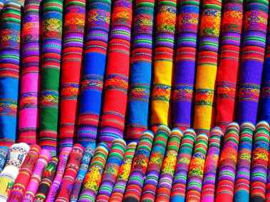 substances-colorful-towels-scarf-peru-mexico-south-america-color-pattern